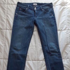 Hudson Jeans Low Rise Skinny Jeans